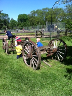 Field Trip at the Historic Cobblestone Farm of Ann Arbor
